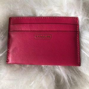 COACH - Card Case - Leather